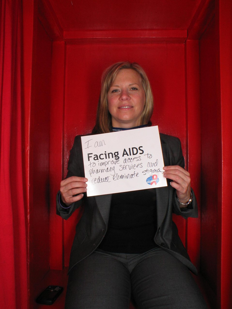 I am Facing AIDS to improve access to pharmacy services and reduce eliminate stigma.