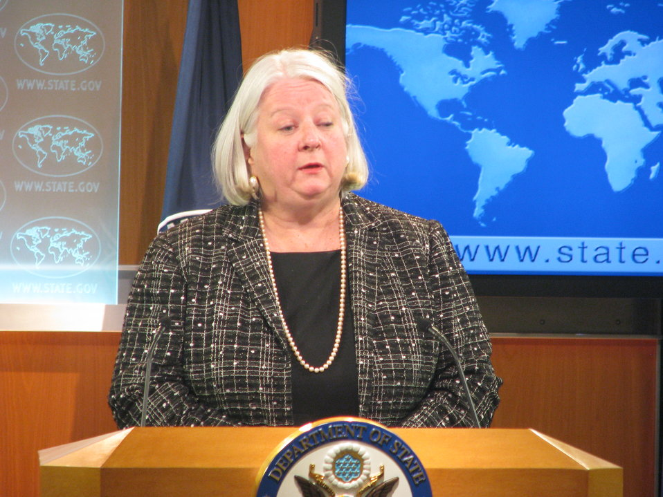 Deputy Assistant Secretary Sanderson Leads the Special Press Briefing