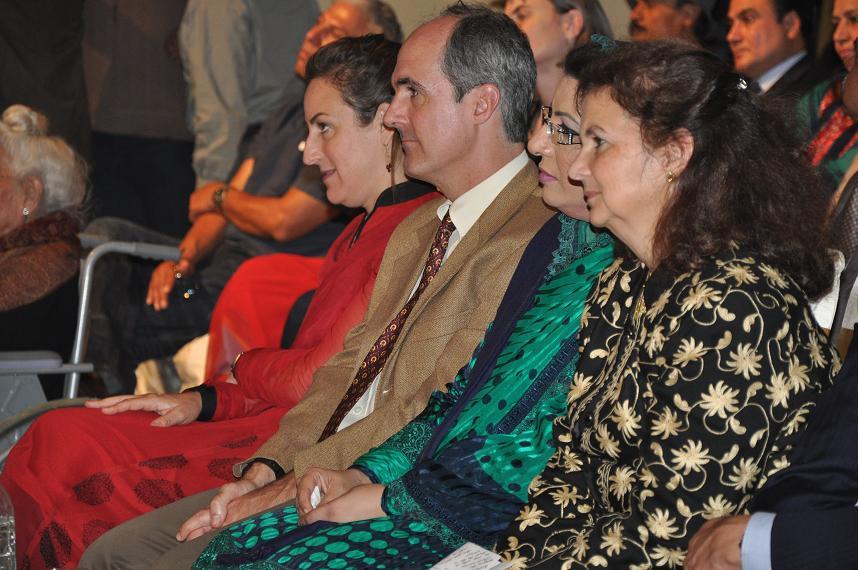 Teg Gehr, Dr. Firdous Ashiq and U.S. CG