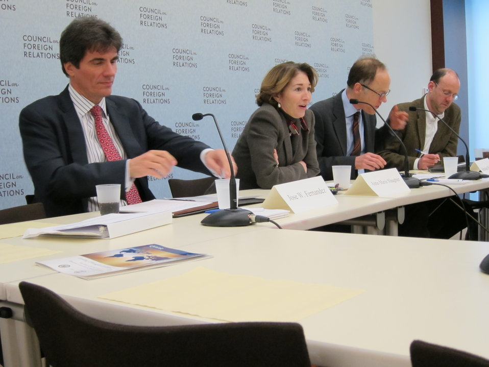 Assistant Secretary Fernandez Participates in a Roundtable Discussion