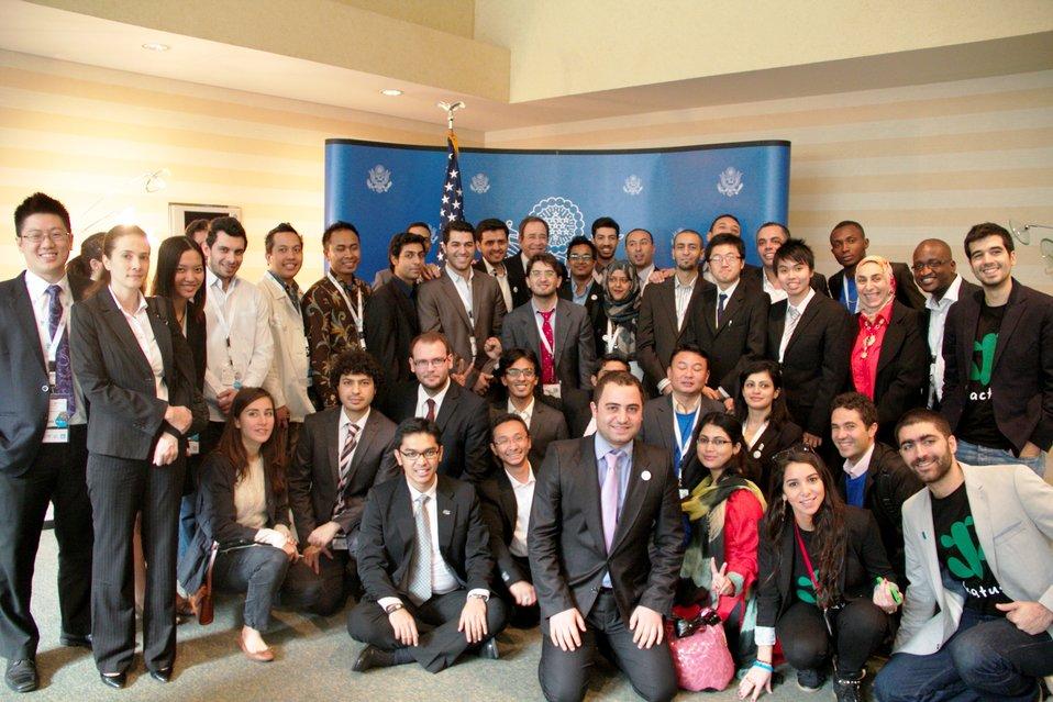 Deputy Secretary Nides With Young Entrepreneurs