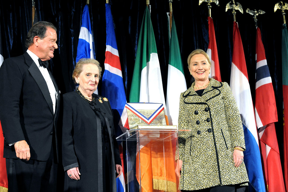 Secretary Clinton Receives the 2011 George C. Marshall Foundation Award