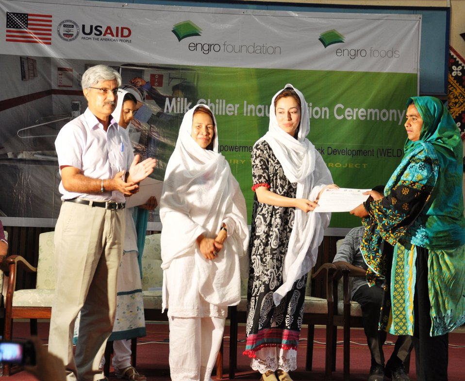 USAID, Engro to install Milk Chillers in Sindh, Punjab