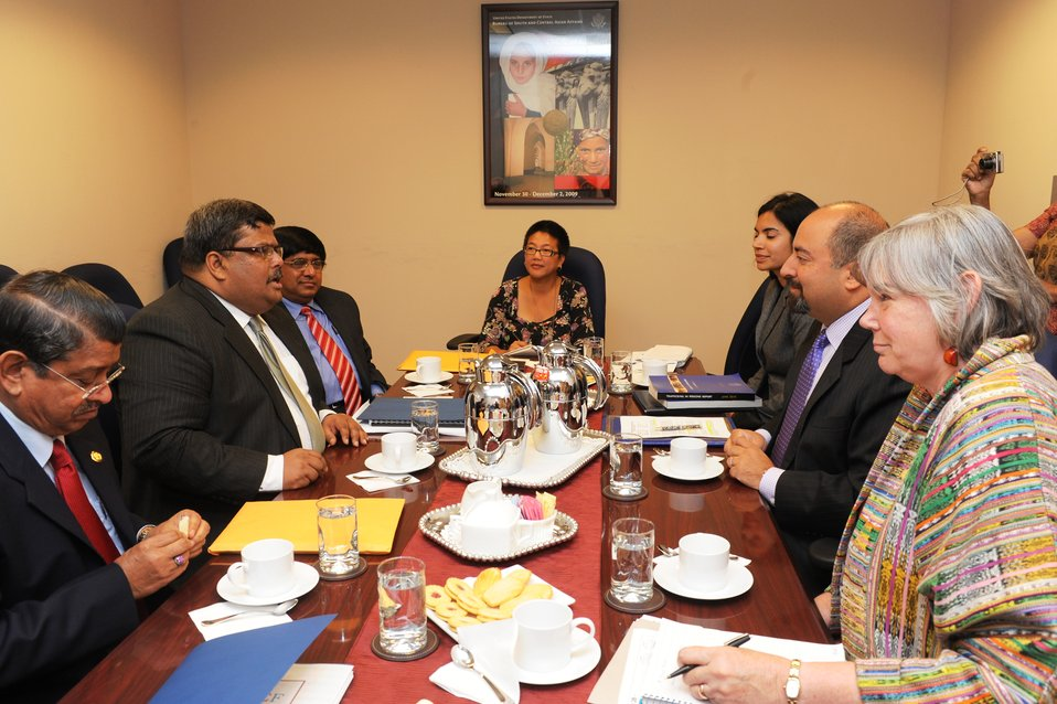 Bureau of South and Central Asian Affairs Representatives Meet With Bangladeshi Foreign Secretary Mijarul Quayes