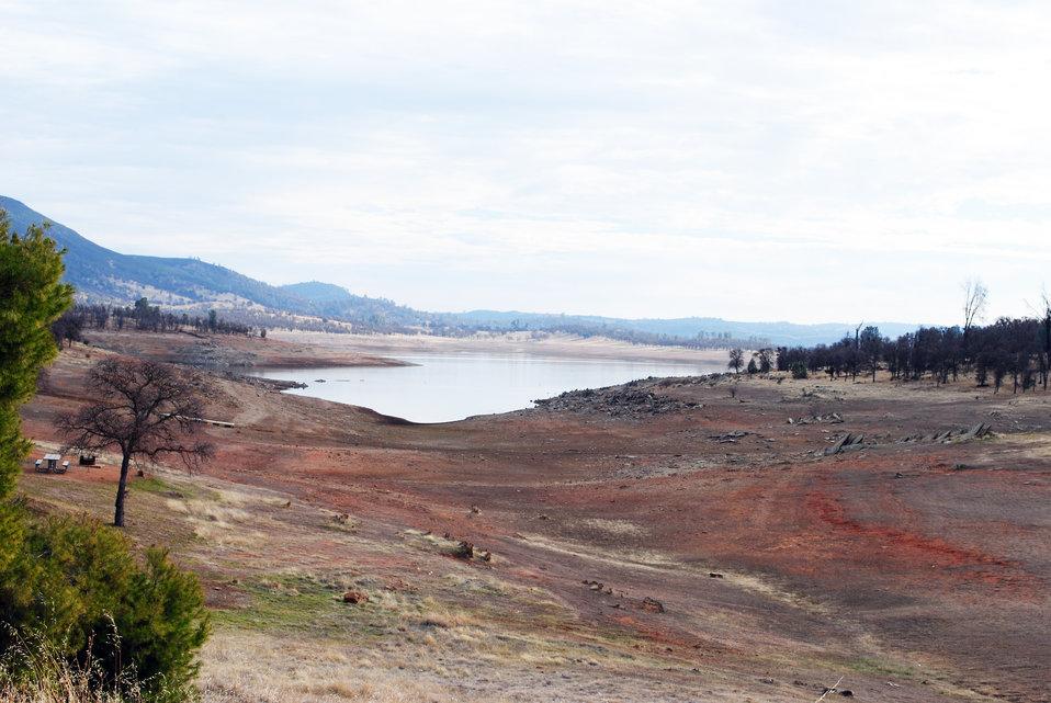 Dry times at New Hogan Lake