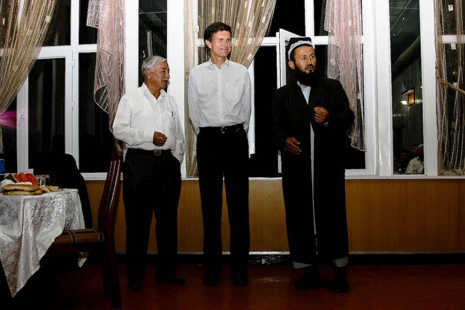 Assistant Secretary Blake Participates in a Ramadan Celebration in Tajikistan