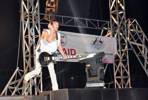 USAID, MTV EXIT concert series in Vietnam, 2010.