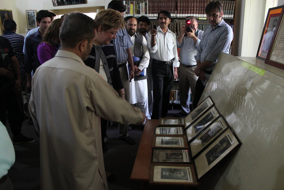 Deputy Director Karen Freeman's visit to Gilgit Library