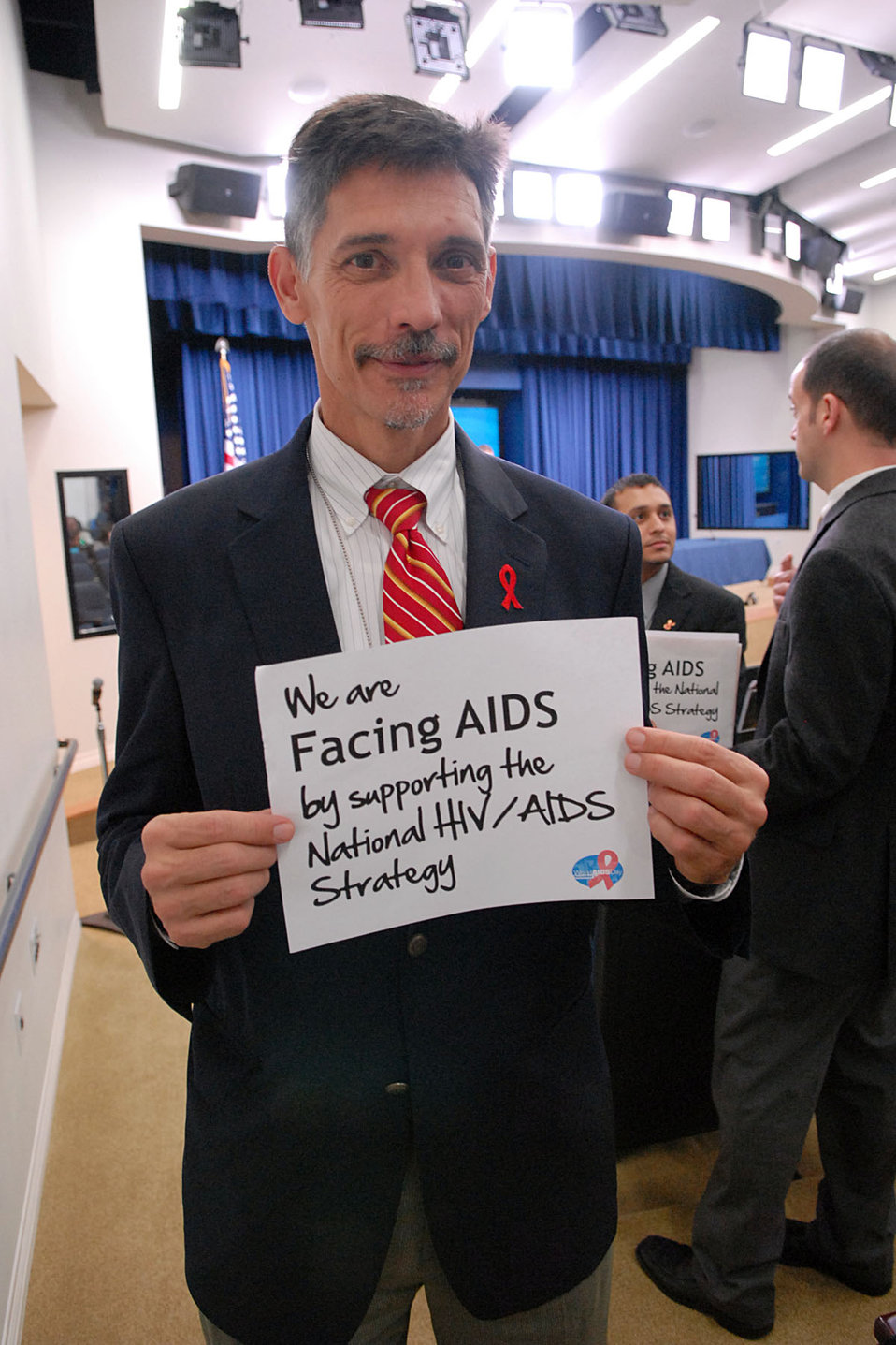 We are Facing AIDS by supporting the National HIV/AIDS Strategy