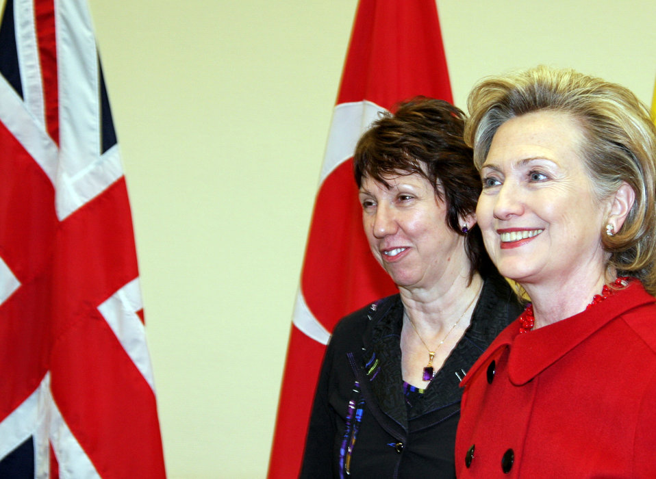 Secretary Clinton Meets With EU High Representative for Foreign Affairs and Security Policy