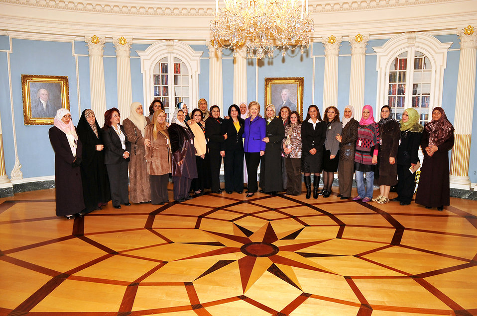 Secretary Clinton Meets With Iraqi Women Leaders