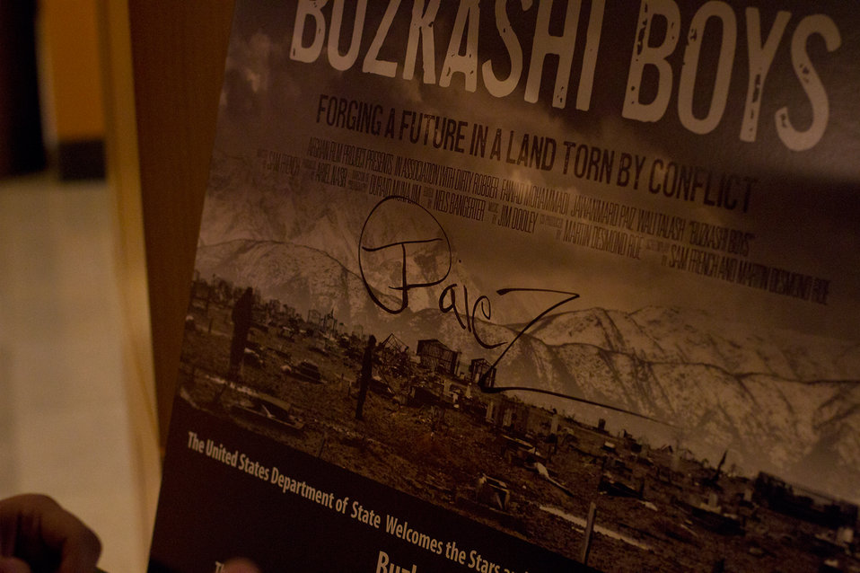 The Stars and Producer of Buzkashi Boys Visit the State Department