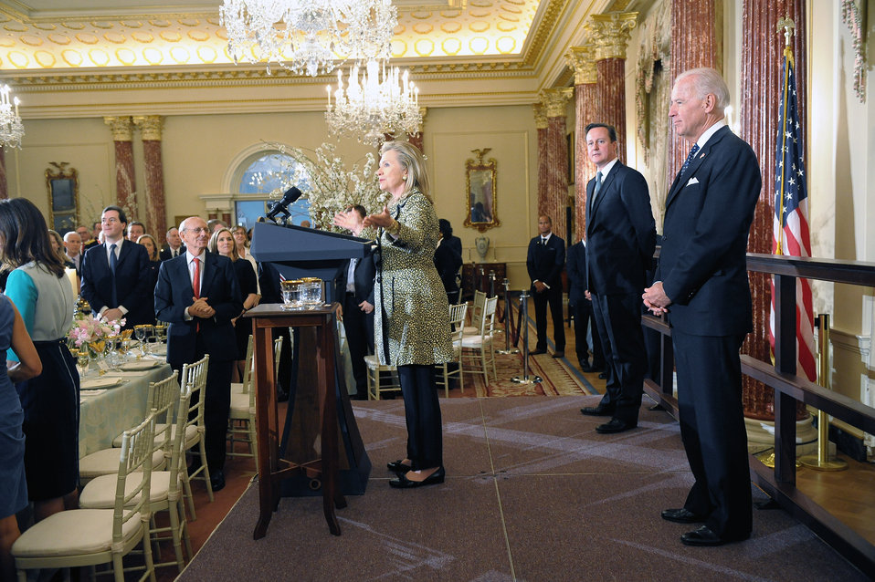 Secretary Clinton Discusses the U.S.-UK Relationship