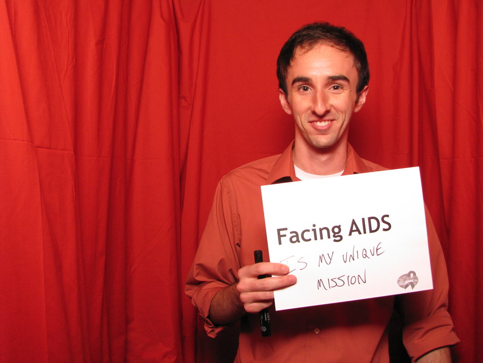 FACING AIDS is my unique mission.