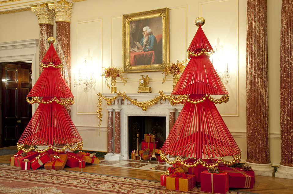 The U.S. Department of State Partners With Time Inc. and InStyle To Decorate the Benjamin Franklin State Dining Room