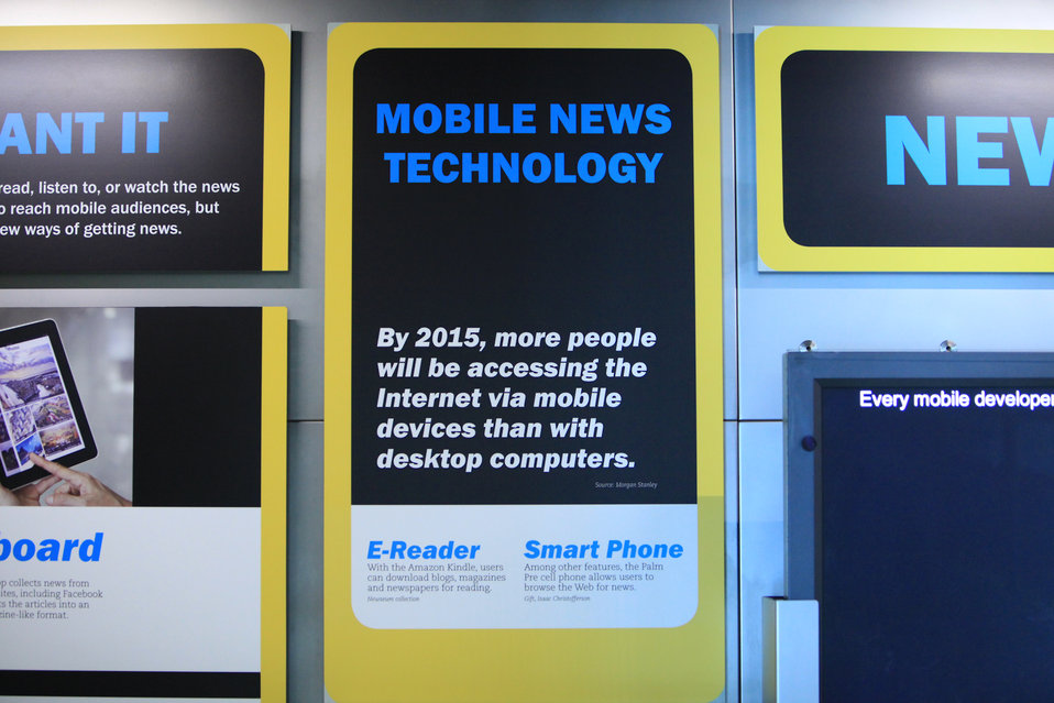 Mobile News Technology Signage