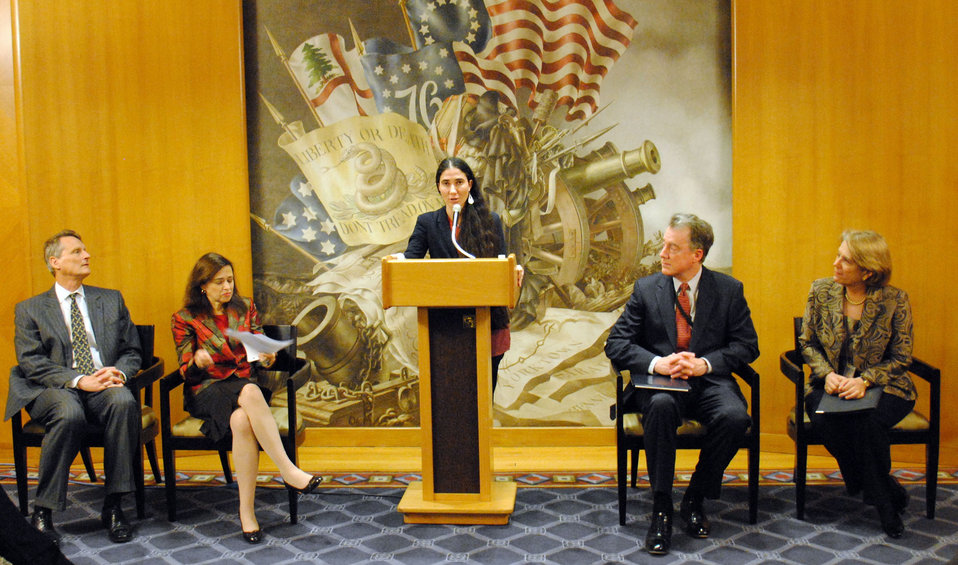 Yoani Sanchez Delivers Remarks