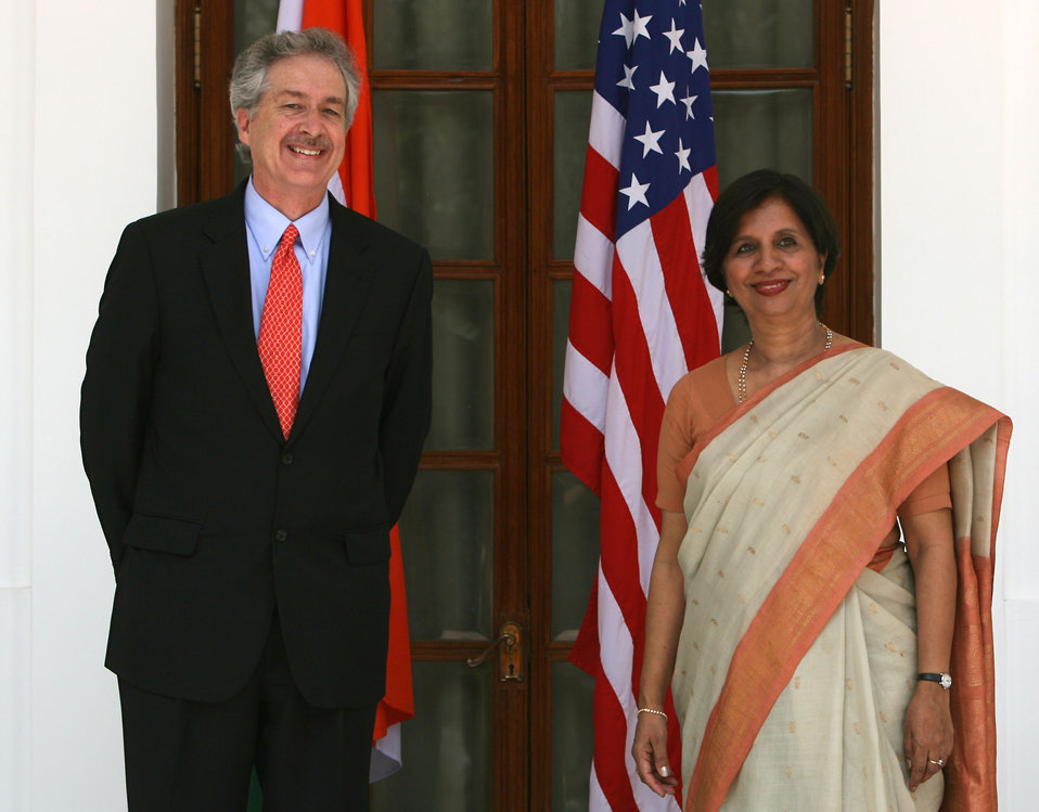 Under Secretary Burns Meets With Indian Foreign Secretary Rao