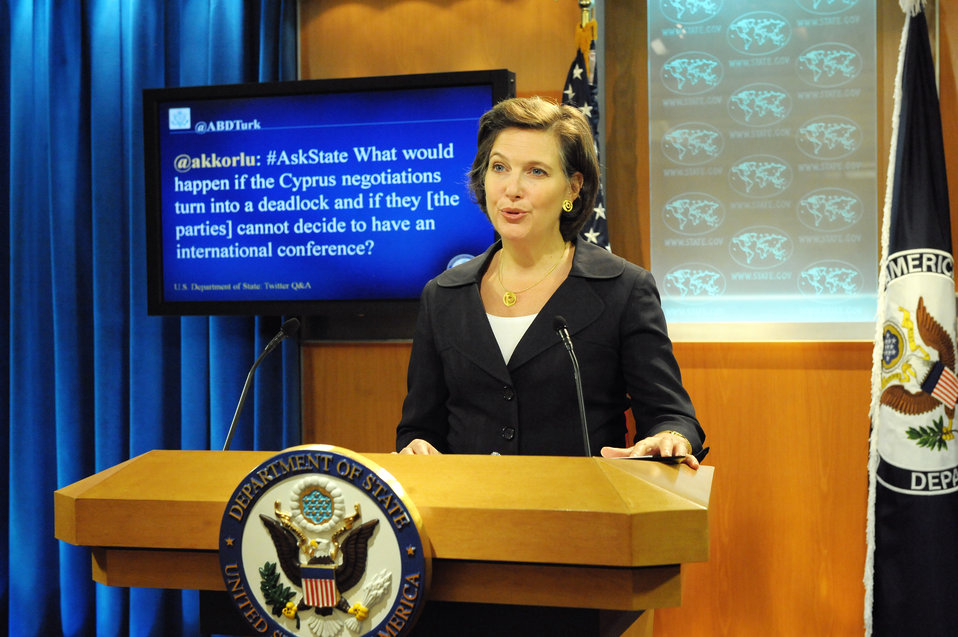 Spokesperson Nuland Responds to a Question from @ABDTurk