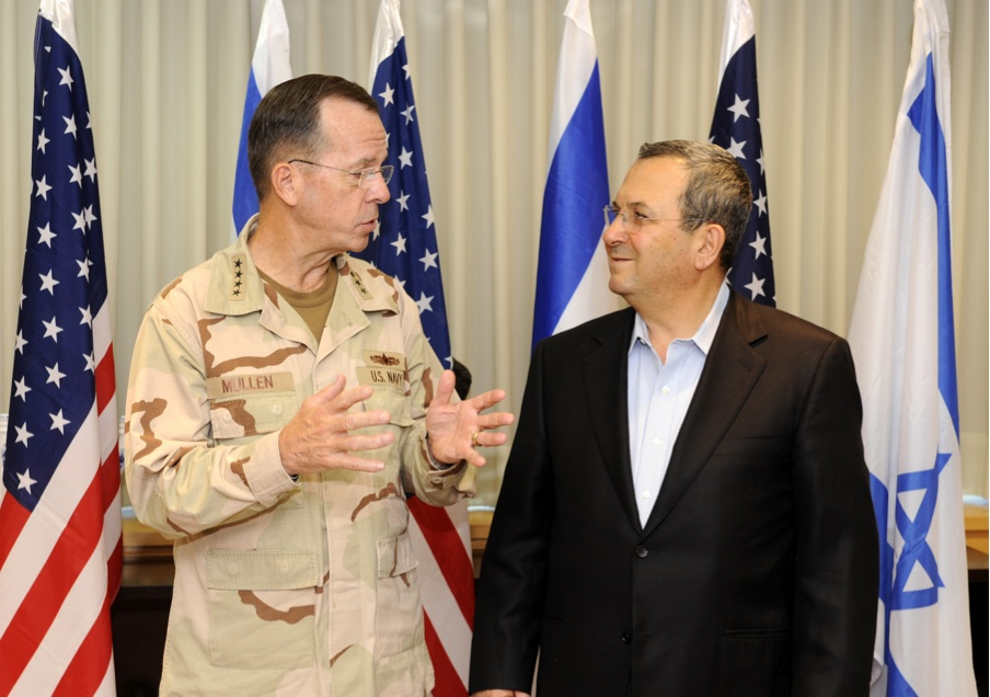Admiral Mullen Speaks With Israeli Defense Minister Barak