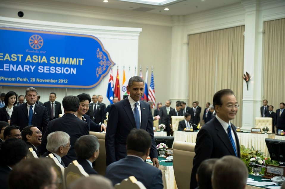 President Obama Participates in the East Asia Summit Plenary Session