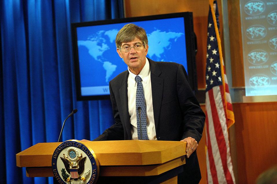 Deputy Secretary Steinberg Briefs the Press on New Iran Sanctions