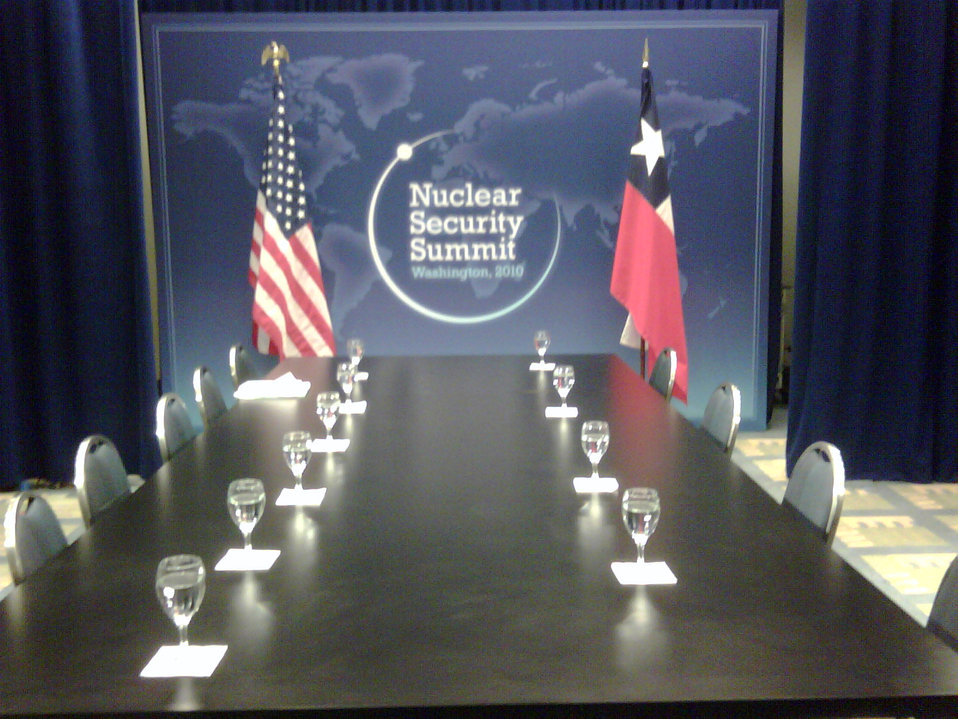 Behind the Scenes: Bilateral Meeting Room