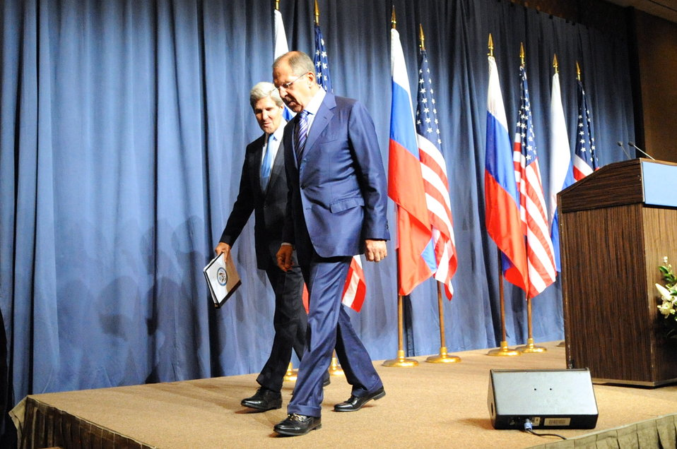 Secretary Kerry and Russian Foreign Minister Lavrov Leave Press Availability