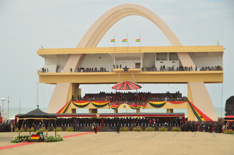 Independence Square in Accra, Ghana