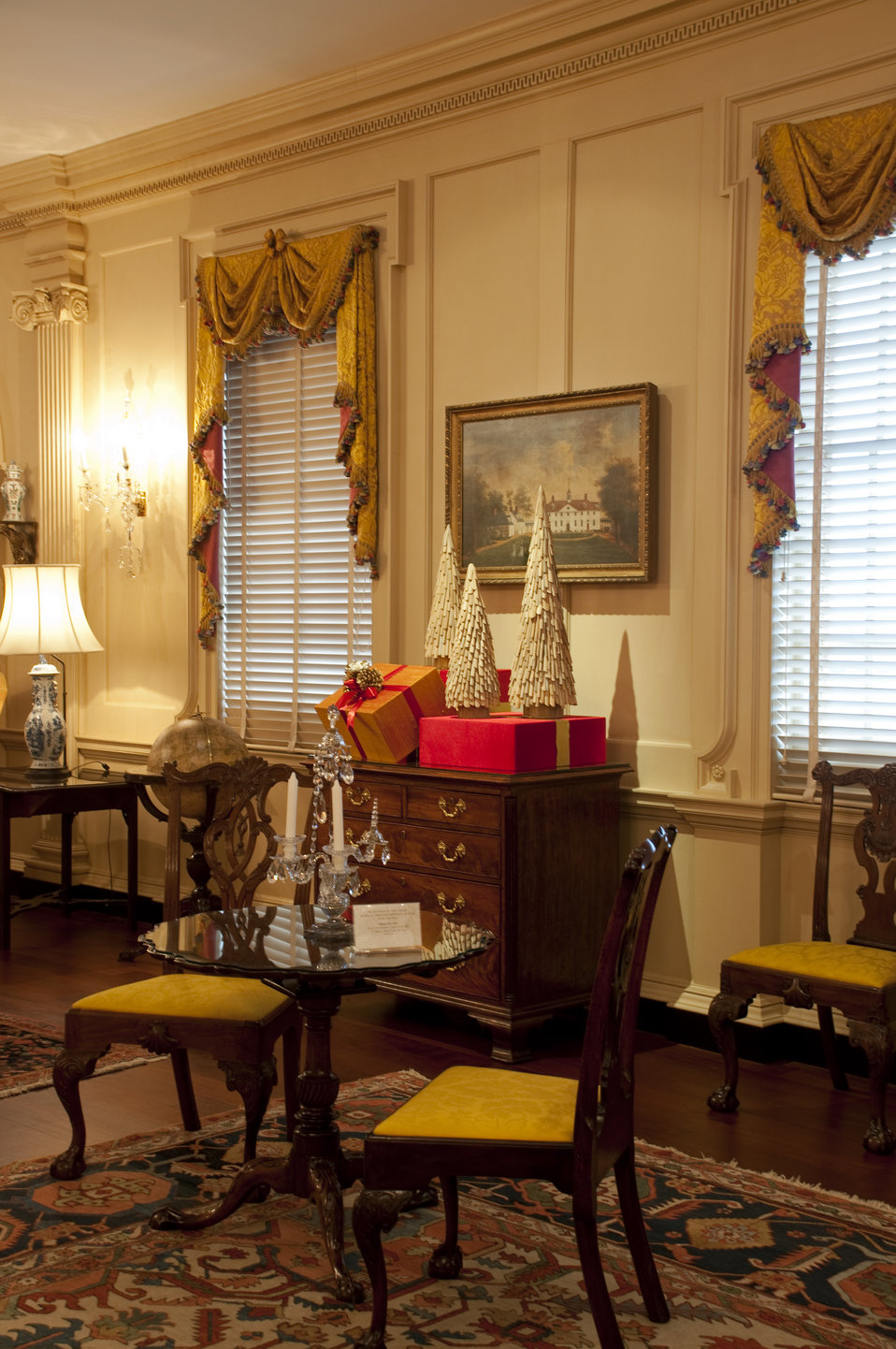 The U.S. Department of State Partners With Time Inc. and InStyle To Decorate the John Quincy Adams State Drawing Room