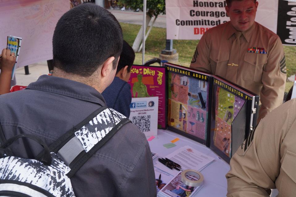 Nationa Drug Facts Week - CIBOLA HS