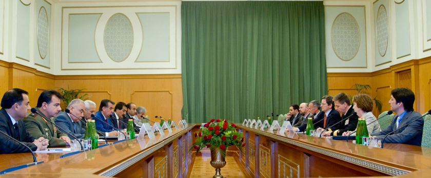 Ambassador Grossman Meets With Tajik President Rahmon and his Senior Officials