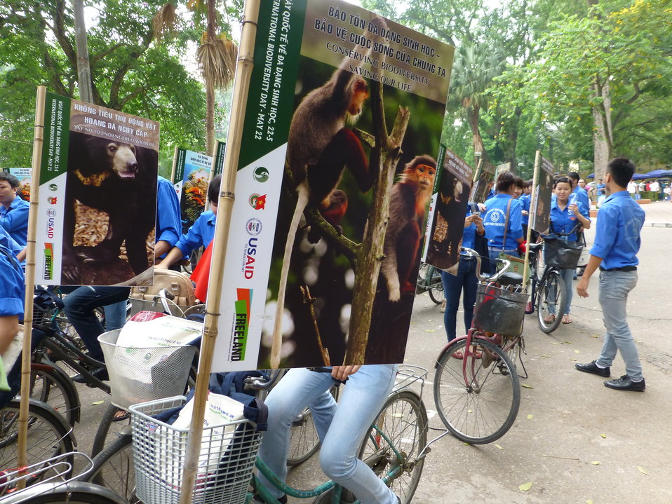 USAID Supports International Day for Biological Diversity in Hanoi