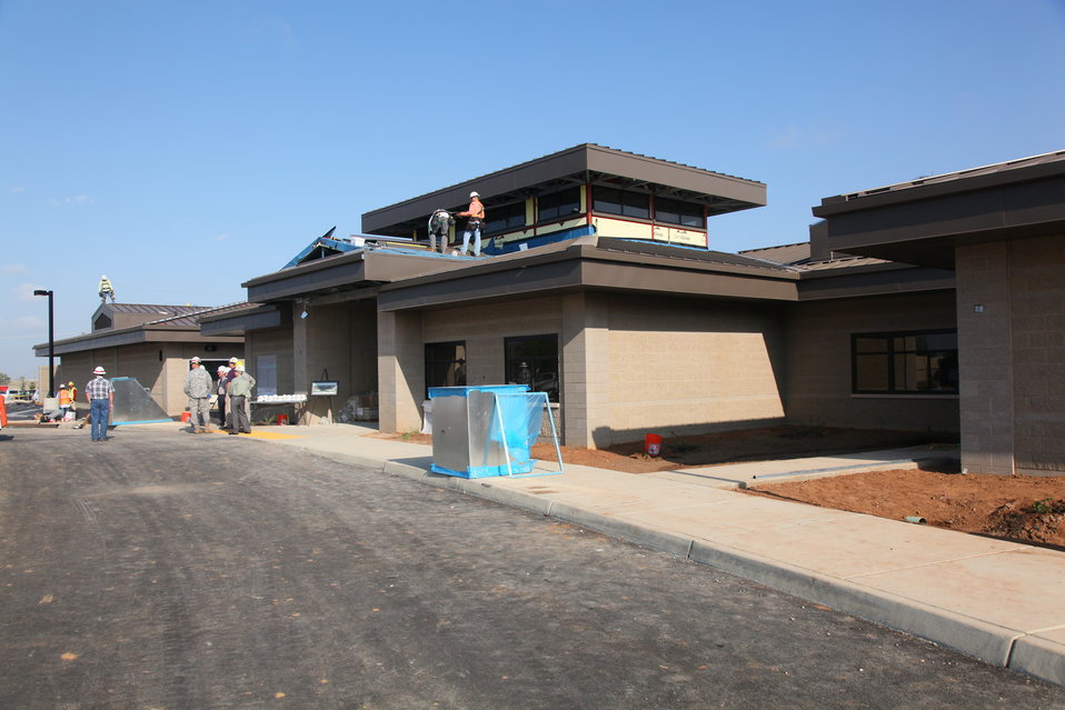 New Child Development Center nears completion at Beale
