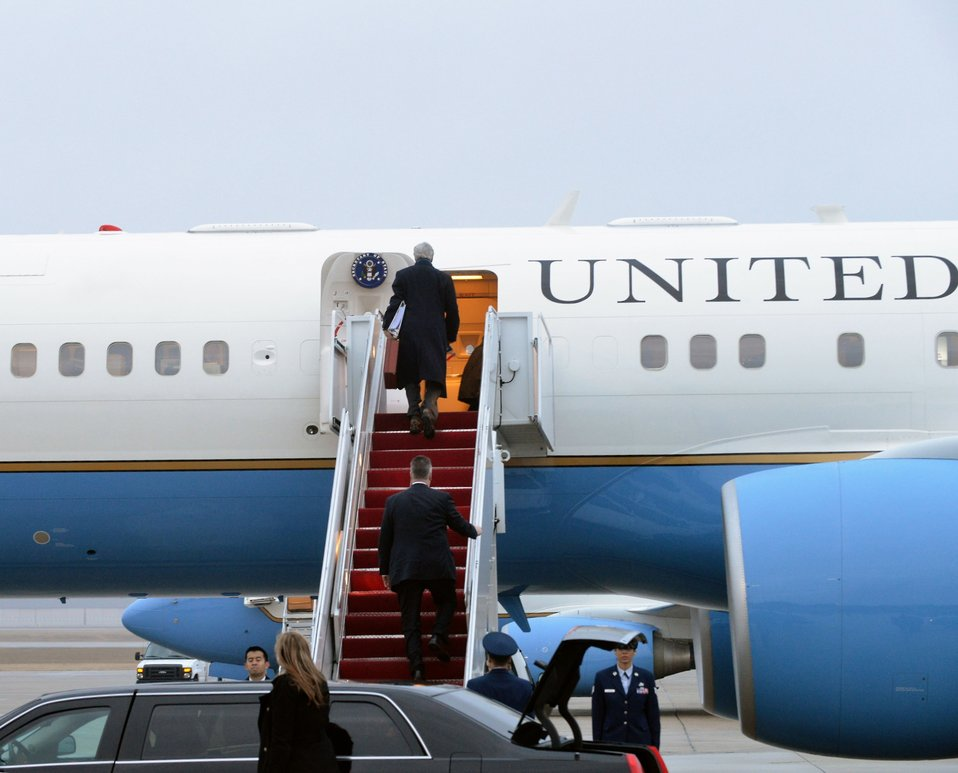 Secretary Kerry Departs for Europe and the Middle East