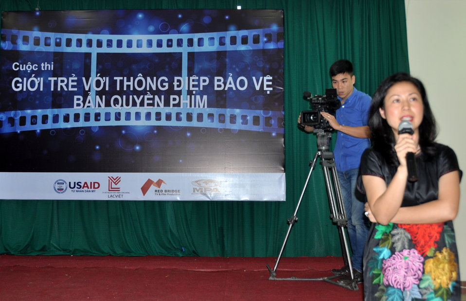 USAID supports scriptwriting contest for students in Hanoi to boost intellectual property rights awareness