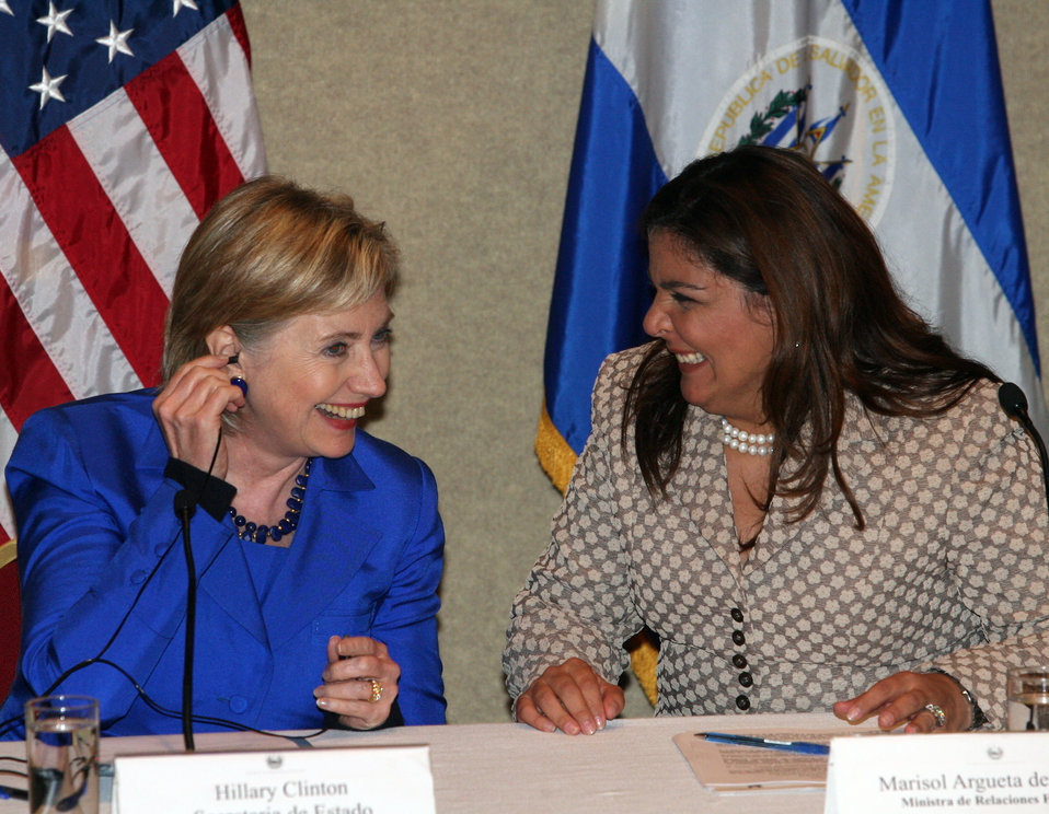 Secretary Clinton, Salvadorian and Costa Rican Foreign Ministers Address Press Conference