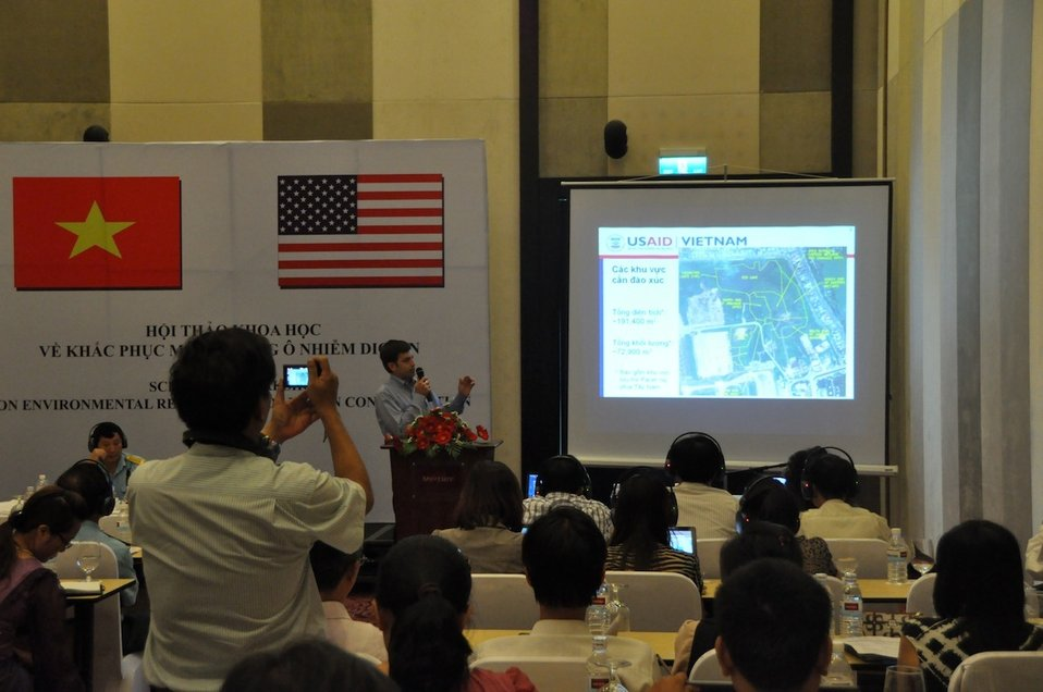 Scientific Workshop on Environmental Remediation of Dioxin Contamination at Danang Airport