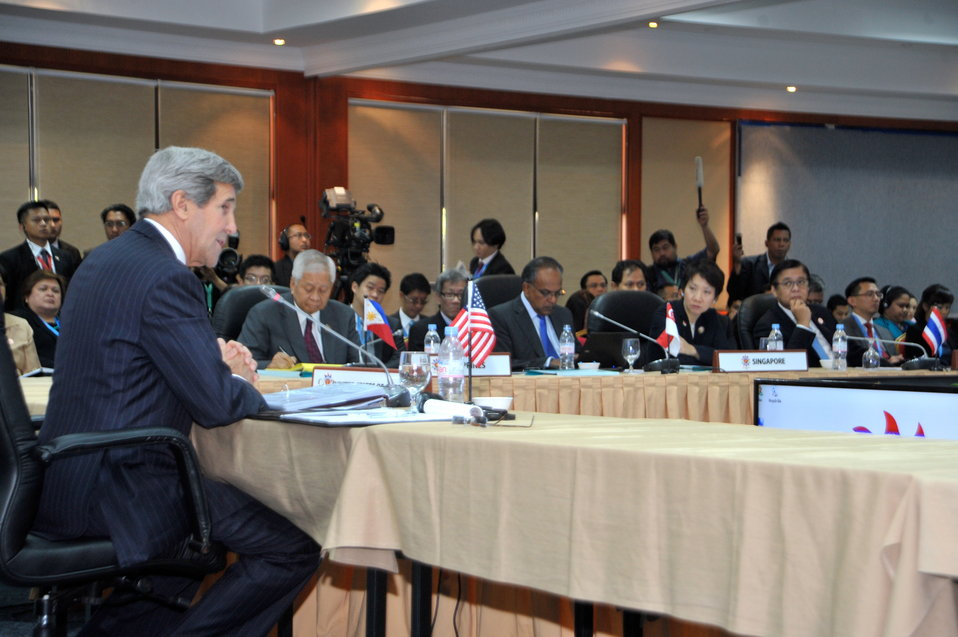 Secretary Kerry Addresses the ASEAN Ministerial Meeting