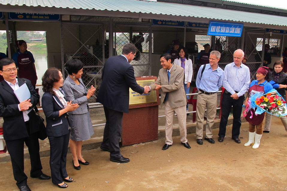 Promoting Hygiene and Sanitation at Dong Ha Poultry Market