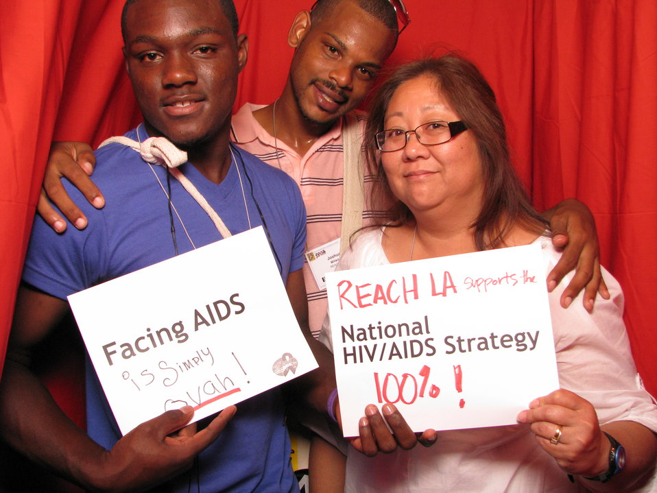 FACING AIDS is simply ovah! REACH LA supports the National HIV/AIDS Strategy 100%!