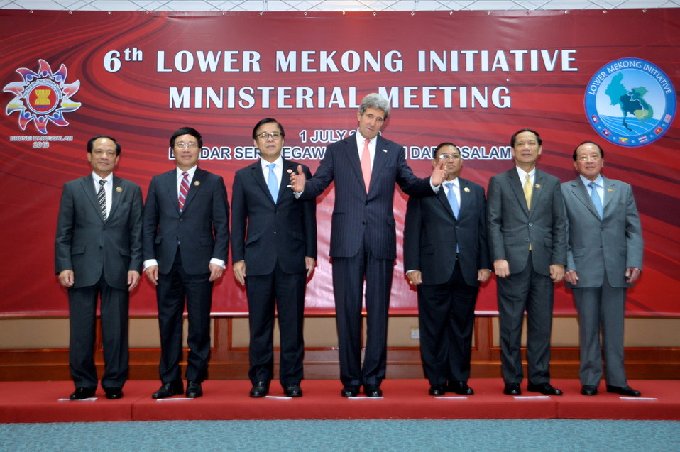 Secretary Kerry Hosts Mekong River Meeting