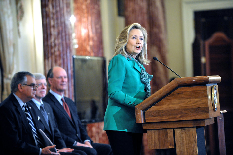 Secretary Clinton Delivers Remarks at Event Celebrating Amelia Earhart and U.S. Ties to Our Pacific Neighbors