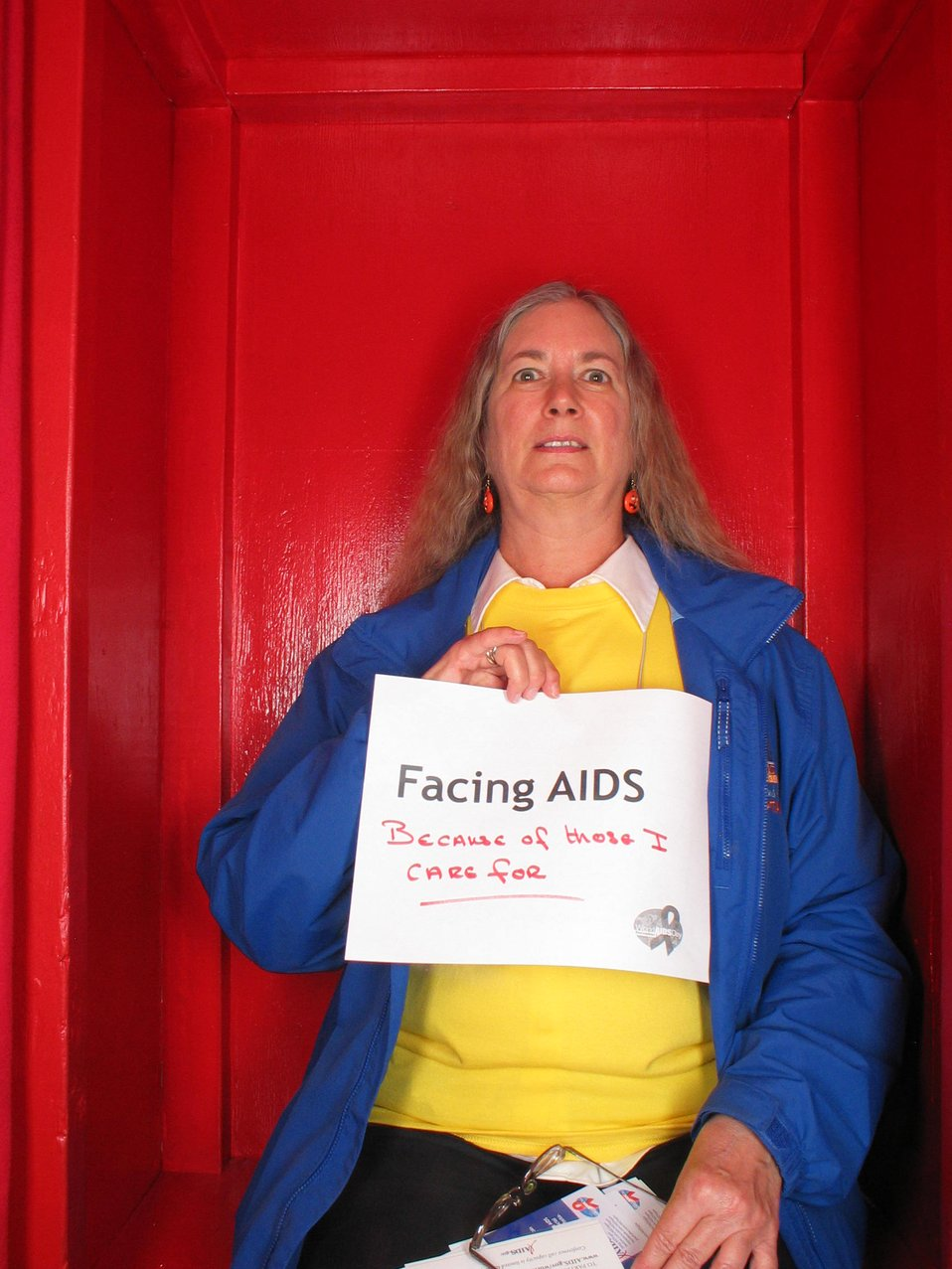 Facing AIDS because of those I care for