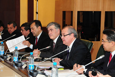 First Deputy Foreign Minister Kamilov Leads the Uzbek Delegation
