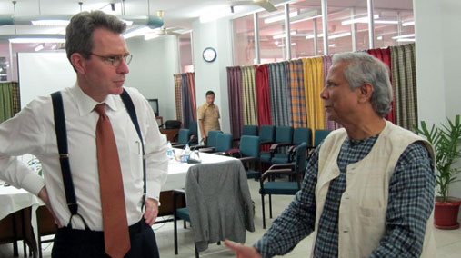 Principal Deputy Assistant Secretary Pyatt Meets With Nobel Laureate Yunus