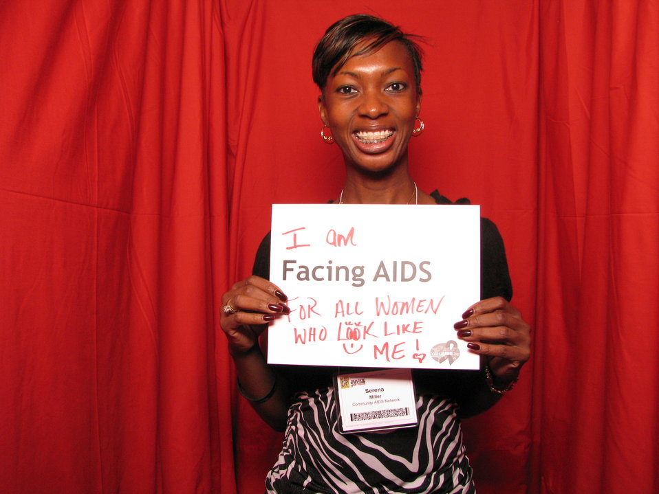 I am FACING AIDS FOR ALL THE WOMEN WHO LOOK LIKE ME!
