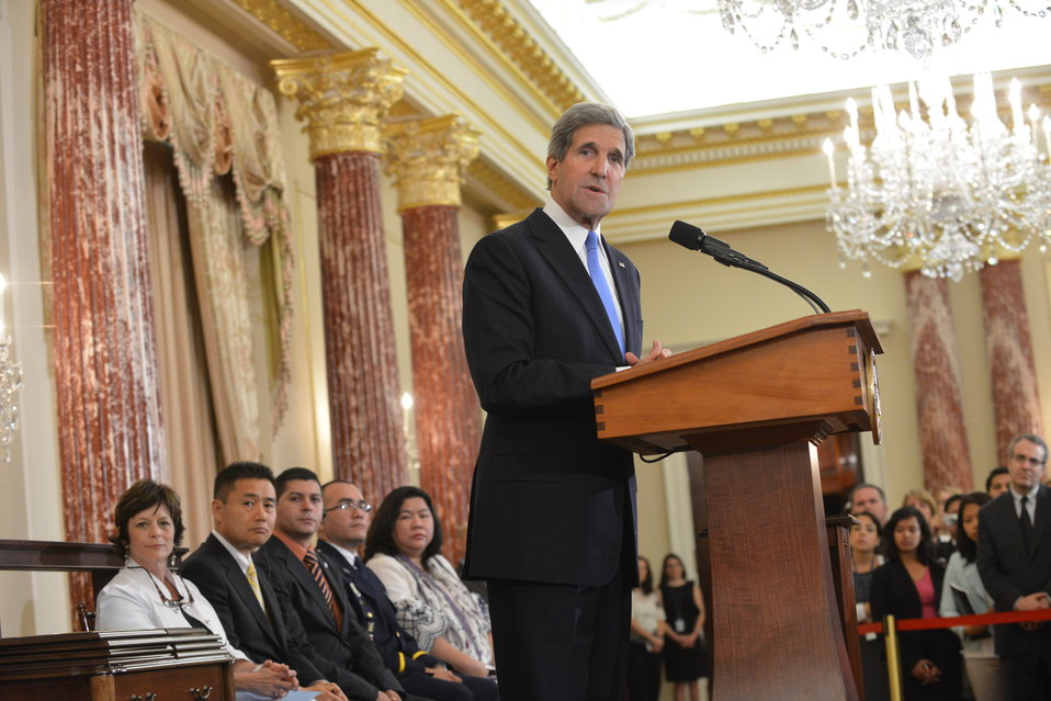 Secretary Kerry Releases the 2013 Trafficking in Persons Report