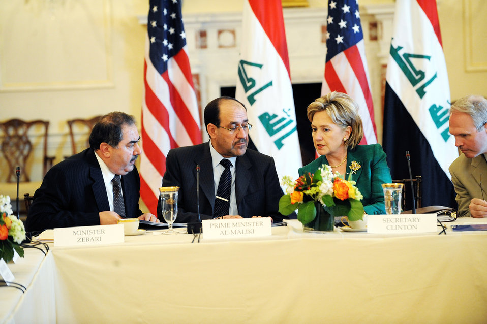 U.S.-Iraq High Coordinating Committee Meeting