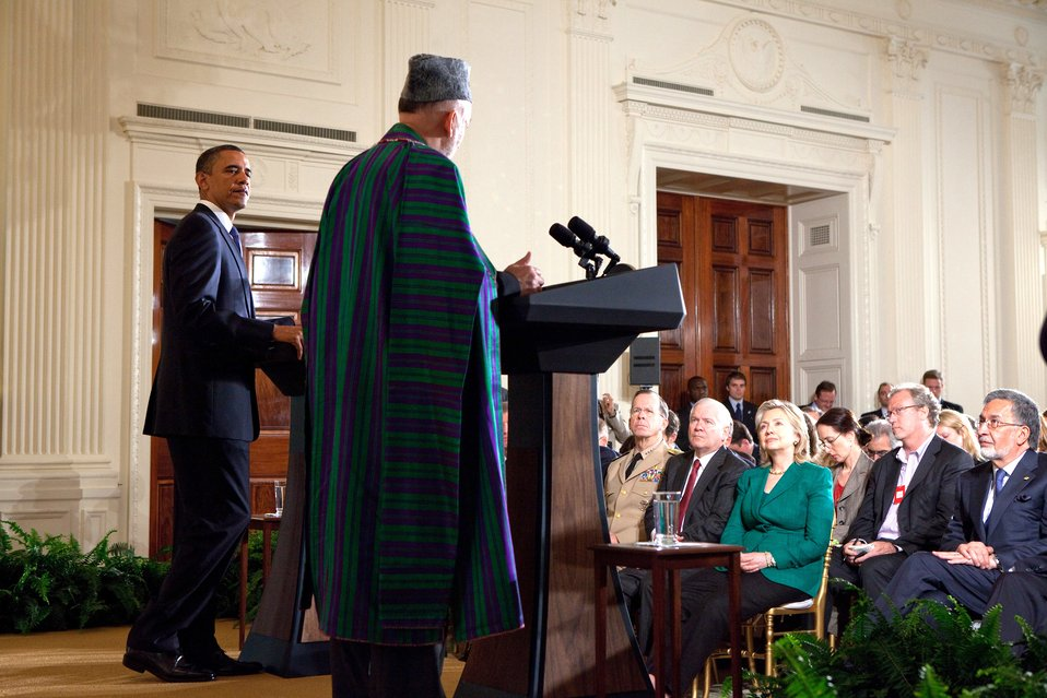 Afghan President Karzai Delivers Remarks